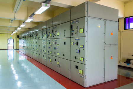 electric controller at Power station  photo