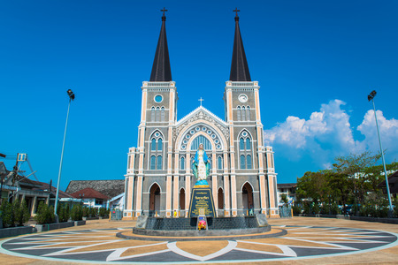 roman catholic: The Roman Catholic Church in Chanthaburi Province, Thailand Stock Photo