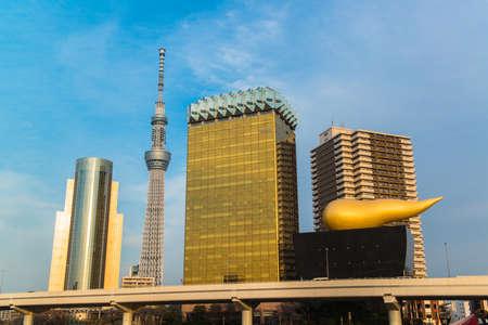 oshiage: Tokyo Sky tree and Azumabashi Riverside