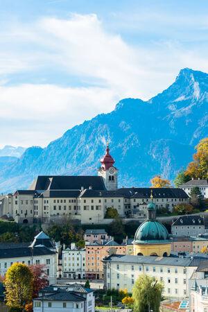 amadeus: General view of the historical center of Salzburg, Austria