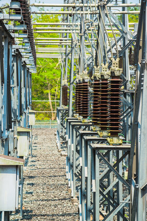 Power station for making electric energy Stock fotó