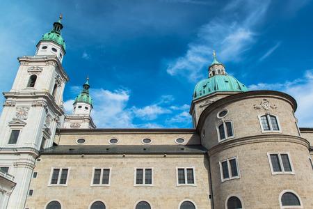 salzach: Salzburg Cathedral Stock Photo