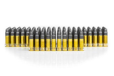 vigilante: Bullets Stock Photo