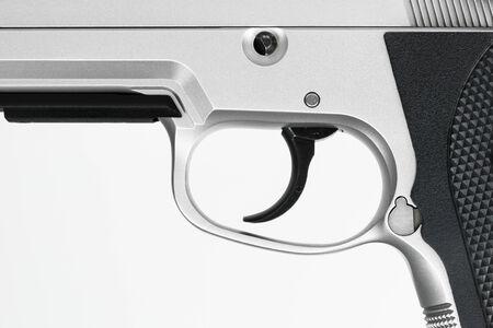 vigilante: Gun , focus on trigger