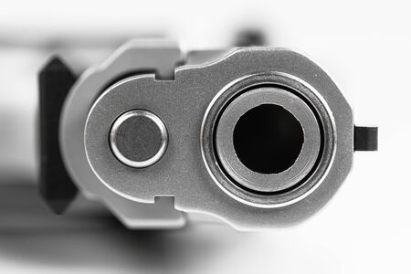 full jacket bullet: Bullets with the gun Stock Photo