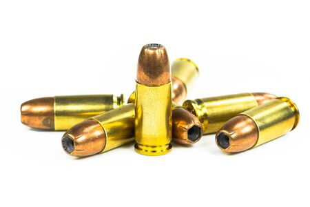 full jacket bullet: Bullets Stock Photo