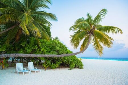south male atoll: Sand beach and ocean wave, South Male Atoll. Maldives