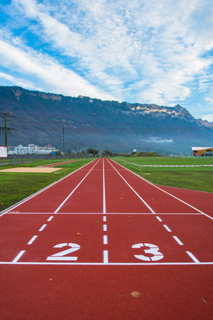 lanes: lanes of running track