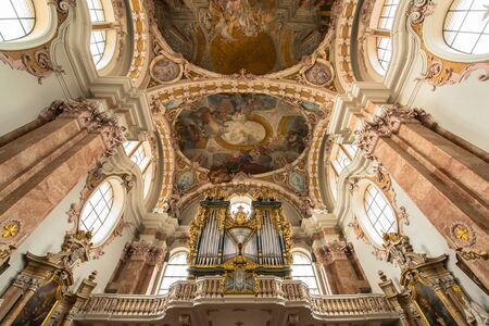 silver plated: Dom Sankt Jakob, Cathedral of Innsbruck, Austria Editorial