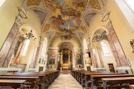 dom: Dom Sankt Jakob, Cathedral of Innsbruck, Austria Editorial