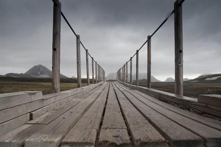 bridge in Iceland