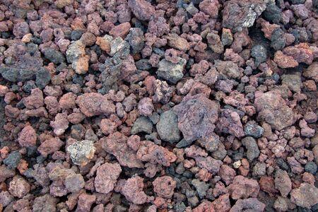 Volcanic rock in Iceland Stock fotó