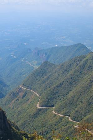 Serra do Rio do Rastro (Route Sierra of the trail river) - Santa Catarina - Brazil Banco de Imagens - 98201496