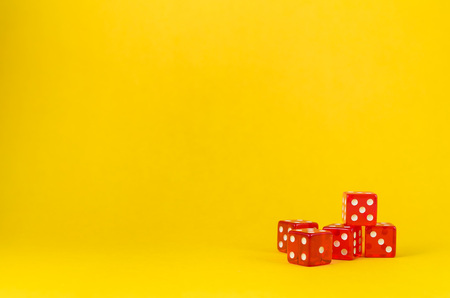 5 says on yellow background, poker says.