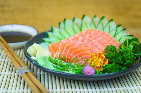 Sushi set (combo). Traditional Japanese cuisine, premium sashimi decorated in elegant surroundings.