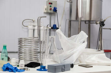 Craft beer production equipment, homebrew equipment, Imagens