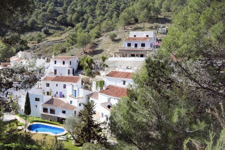 The remote hamlet of El Acebuchal. A place that stood abandoned for many years. Now it is a lived in, beautiful spot which is ideal for rest and relaxation.