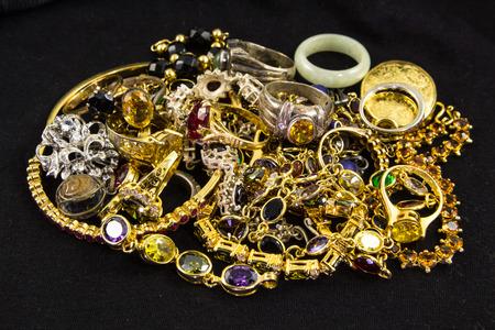 tresure: Many precious gems and golds