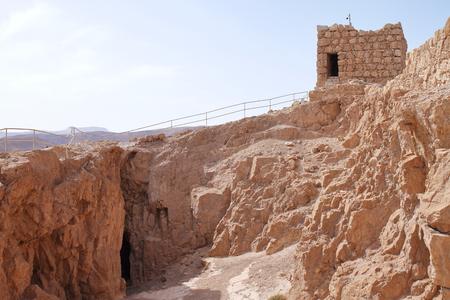 Masada Fortification ruins - Israel