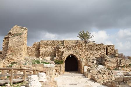 judea: Gate - Caesarea - Israel
