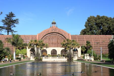 Botanical Building - Balboa Park - San Diego - USA Editorial