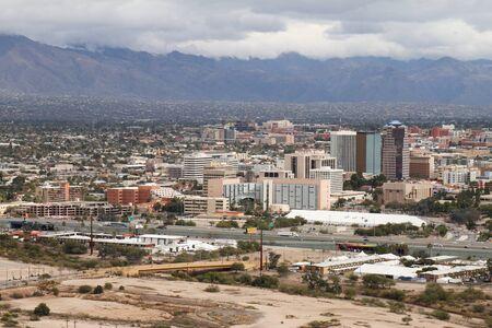 Downtown Tucson - USA Archivio Fotografico