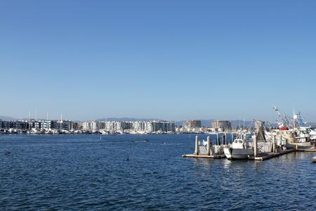Marina del Rey - Los Angeles - USA Archivio Fotografico