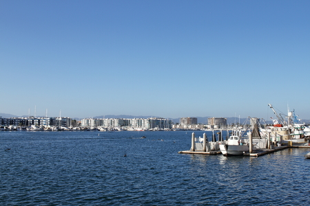 Marina del Rey - Los Angeles - USA Banque d'images