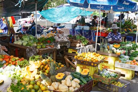 Fort de France Market - Martinique FWI