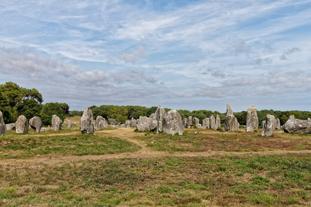 Carnac stones - Brittany, France