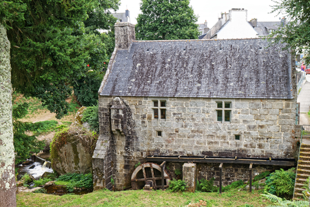 Water mill - Huelgoat, Finistere, Brittany, France