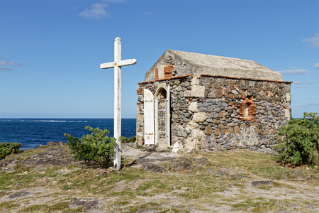 Virgin of sailors (Vierge des Marins) chapel in Macabou domain - Le Marin, Martinique FWI