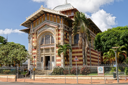 Schoelcher library - Fort-de-France, Martinique FWI