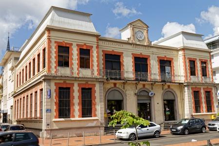 29 NOV 2018 -  Fort-de-France, Martinique FWI - Post Office colonial building Stock Photo - 116168691