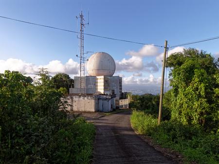 Weather station in Le Diamant, Martinique FWI