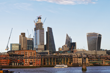 City of London skyline - UK