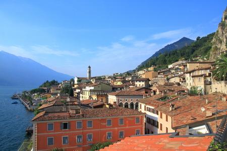 Limone - Lake Garda - Italy Stock Photo