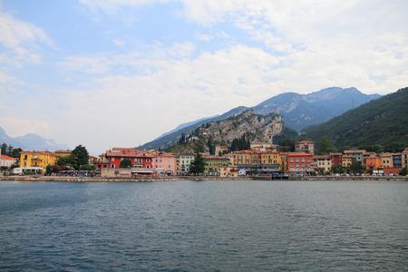 Torbole - Lake Garda - Italy Archivio Fotografico
