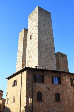 San Giminiano - Tuscany - Italy Stockfoto - 116304347