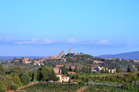 San Giminiano - Tuscany - Italy Stockfoto - 116304351