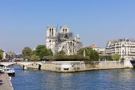 19 Apr 2019 - Paris, France - Notre-Dame de Paris after April 15th Fire
