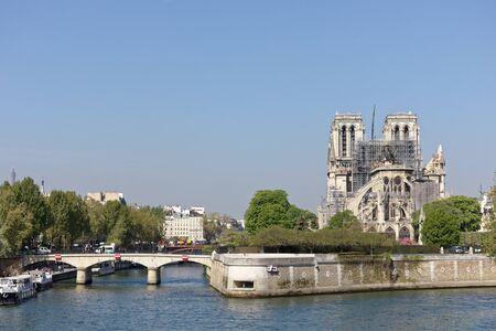 19 Apr 2019 - Paris, France - Notre-Dame de Paris after April 15th Fire