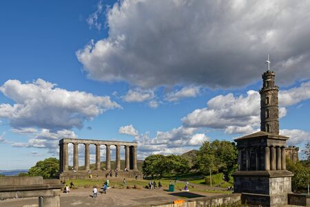 Calton Hill - Edinburgh, Scotland, United Kingdom