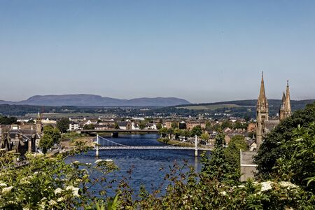 River Ness - Inverness, Highlands, Scotland, United Kingdom