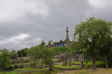 Glasgow Necropolis - Glasgow, Scotland, UK Reklamní fotografie