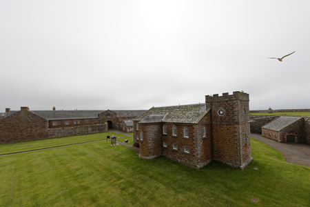 Fort George church - Ardersier, Inverness, Scotland, UK Editorial