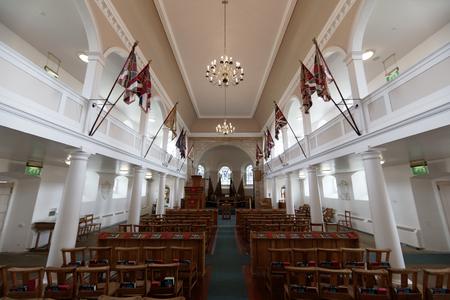 Fort George church - Ardersier, Inverness, Scotland, UK Editorial
