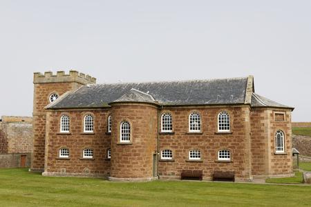 Fort George church - Ardersier, Inverness, Scotland, UK 報道画像