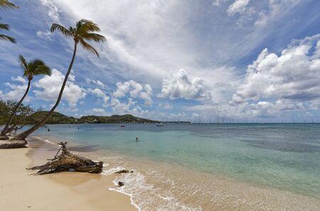 Sainte-Anne, Martinique, FWI - Pointe Marin beach