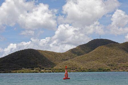 Sainte-Anne, Martinique, FWI - Seamark near Sainte-Anne and Le Marin